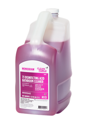 Monogram Clean Force 73 Disinfecting Acid Bathroom Cleaner