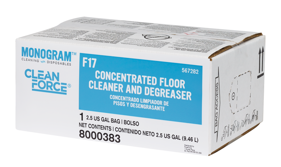 Monogram Clean Force Concentrated Floor Cleaner and Degreaser