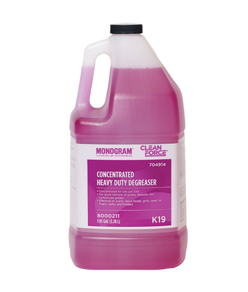 Heavy Duty Degreaser >> Monogram Clean Force Concentrated Heavy Duty Degreaser