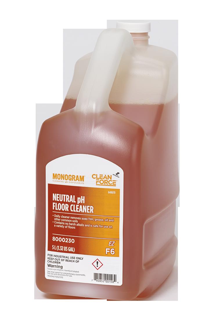 Monogram Clean Force Ez Neutral Ph Floor Cleaner