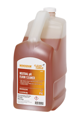 Monogram Clean Force EZ Neutral pH Floor Cleaner
