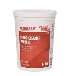 Monogram Clean Force Floor Cleaner Packets