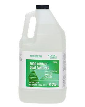 Monogram Clean Force Food Contact Quat Sanitizer