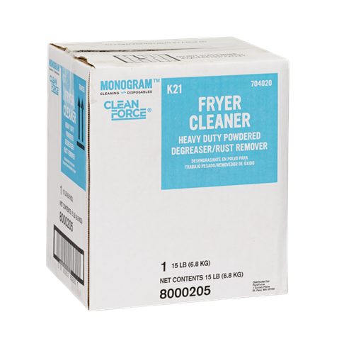 Monogram Clean Force Fryer Cleaner