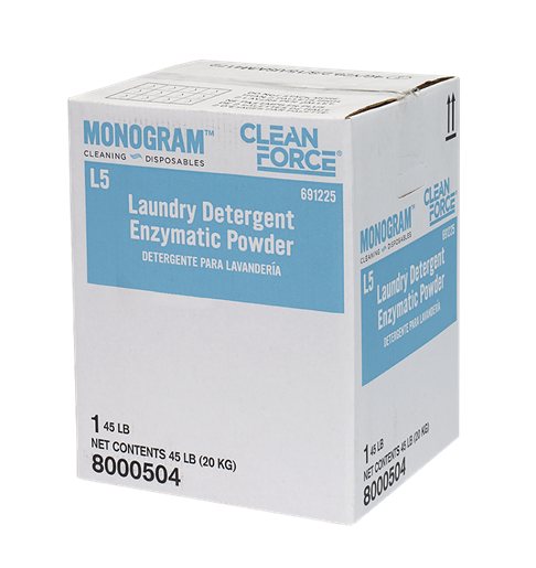 Monogram Clean Force Laundry Detergent Enzymatic Powder