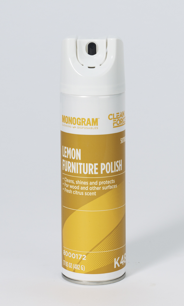 Monogram Clean Force Lemon Furniture Polish