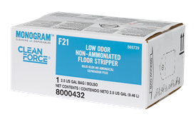 Monogram Clean Force Low Odor Non Ammoniated Floor Stripper