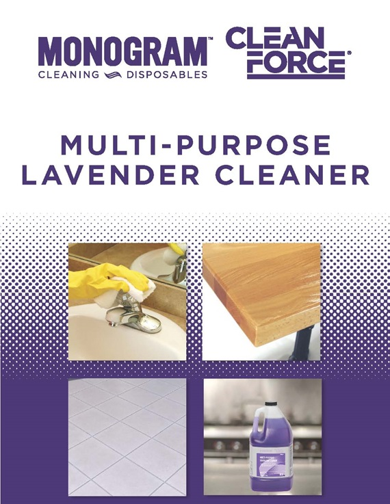 Monogram Clean Force Multi Purpose Lavender Cleaner