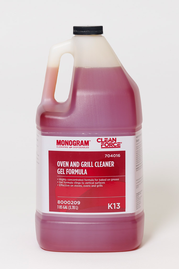 Monogram Clean Force Oven and Grill Cleaner Gel Formula