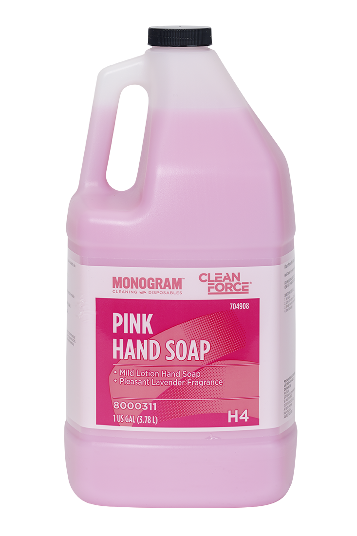 Monogram Clean Force Pink Hand Soap