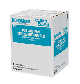 Monogram Clean Force Pot and Pan Detergent Powder