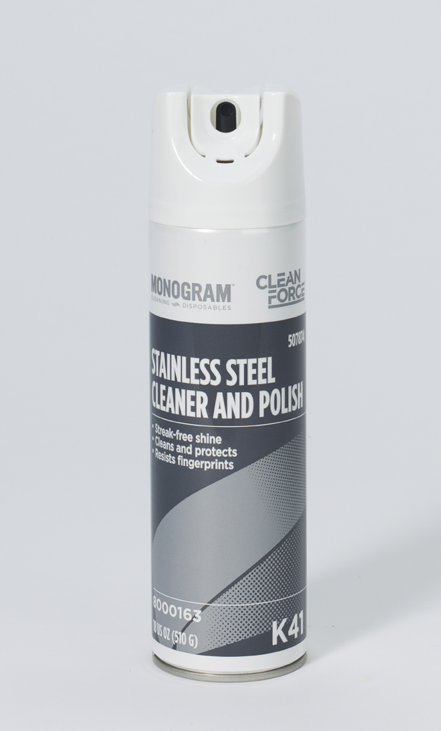 Monogram Clean Force Stainless Steel Cleaner Polish